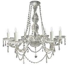 tipperary crystal clarissa 6 arm chandelier