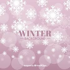 pink winter background. Plain Pink Pink Winter Background With Snowflakes Free Vector Inside Winter Background