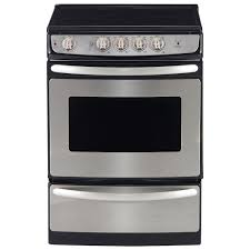 stove 24 inch. ft. slide-in easy-clean smooth top range (jcas445svss) - stainless steel : ranges best buy canada stove 24 inch r