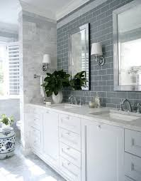 blue gray tile backsplash grey