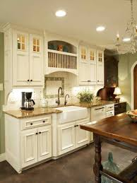 white country kitchen with butcher block. White Country Kitchen With Butcher Block At The Cottage {before And After} U Skies I