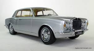 Paragon Models 118 1968 Rolls Royce Silver Shadow Mpw Coupe