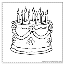 Small Picture Fancy Cake Coloring Page Printables for Kids free word search