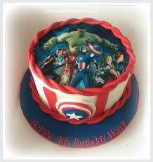 10 Avengers Birthday Cakes For Boys Photo Avengers Boy Birthday