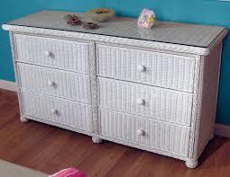 white wicker dresser. Plain White On White Wicker Dresser A