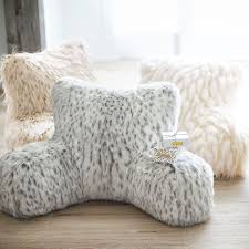 Faux Fur Lounge Around Pillow Cover