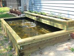 build this simple above ground pond ideas in a weekend it features fountain and trellis koi above ground koi pond