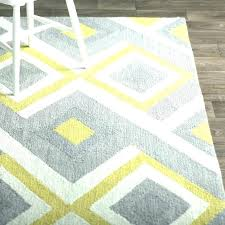 gray and white area rug yellow rugs side s for nursery