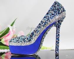 Wholesale Blue Shoes Buy Royal Blue Wedding Shoes Ladies High