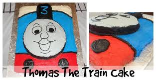 Easy Homemade Thomas The Train Cake Little Miss Kate