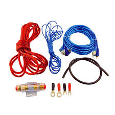 auto car w rca to rca audio cable amplifier wires kit alex nld