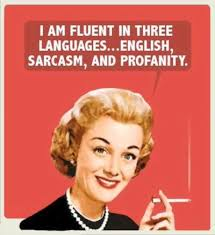 Sarcasm ecards vintage meme 1950's housewife | Vintage Memes ... via Relatably.com