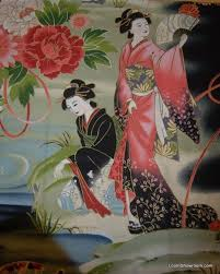 Geisha Japan Theatre Japanese Asian Serenity Koi Fish Crane Cotton ... & Geisha Japan Theatre Japanese Asian Serenity Koi Fish Crane Cotton Fabric  Quilt Fabric Panel AC037 Adamdwight.com
