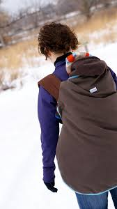 Winter Baby Carrier Cover - Catbird Baby