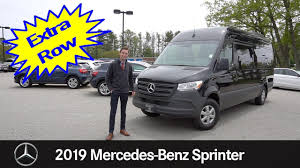 Explore the 2021 sprinter passenger van features, specifications, packages, accessories and warranty information. Extra Row 2019 Mercedes Benz Sprinter 2500 Passenger 170 Wb Tour With Spencer Youtube