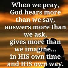 Image result for god will answer your prayers