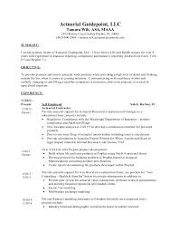 Actuary Resume Job Description Magdalene Project Org
