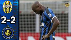 Hellas Verona vs Inter 2-2 | Milan HIGHLIGHTS All Goals & Extended |  #SerieA 10/07/2020 - YouTube
