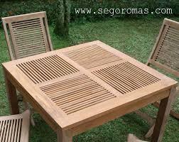 dining table set teak patio furniture dark