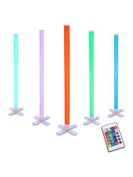 Colour Changing Tube Light Remote Controlled Colour Changing Led Light Tube Bellas