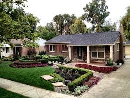 Simple Front Yard Corner Lot Landscaping Ideas On Amazing Landscape Of House  Design Rdcny Cool