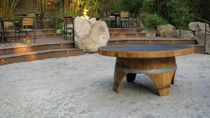 wood barrel furniture. The Top Of This Beautiful Coffee Table Is Created From Wine Barrel Wood Furniture
