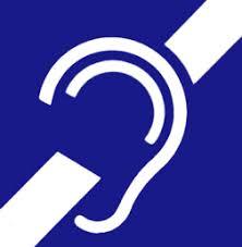 Resultat d'imatges de orella llengua de signes