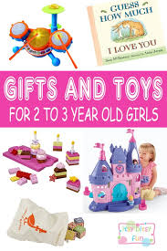 Best Gifts For 2 Year Old Girls. Lots of Ideas for 2nd Birthday, Christmas Girls in 2017 - Itsy Bitsy Fun