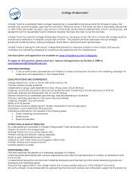 brand ambassador resumes template brand resume sample position cover letter brand ambassador resumes template brand resume sample position purpose and qualifications experiencebrand ambassador resume