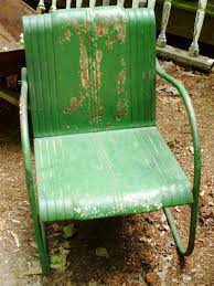 Vtg 1940 50s simmons furniture metal medical Refinished Cilynncoolengreenlawnchairs3x4 Urban Remains How To Tell If Metal Furniture And Decor Is Worth Refinishing Diy