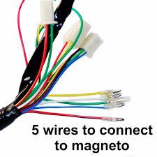 motorcycle electrics wiring harness loom solenoid coil cc atv description