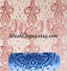 patterned paint roller pattern paint