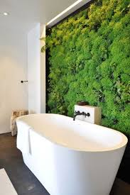 Natural Bathroom Living Wall