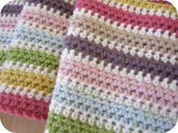 Single And Double Crochet Blanket Pattern