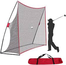 Amazon.com : Golf Net 10x7ft Portable Golf Practice Net w/Carry Bag for  Indoor Outdoor Backyard Driving Hitting Chipping Training Net : Sports &  Outdoors