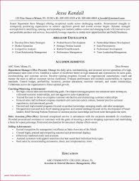 93 Store Manager Resume Templates Resume Templates For Retail