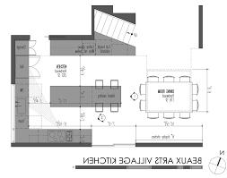 kitchen arts archicad cad autocad drawing plan portfolio blueprint inspiration design ideas village kitchen plan the