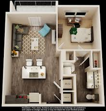 One Bedroom With Den Tampa Fl