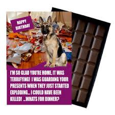 image is loading novelty chocolate dog lover birthday gift funny german