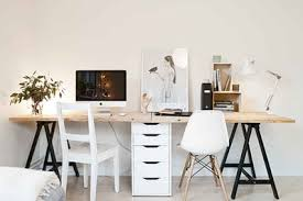 ikea table office. (Image Credit: Stadshem Via Coco Lapine Design) Ikea Table Office T