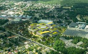 lego office. the lego group shares plans for new office building in billund lego