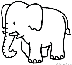 Coloring Pages Simple Coloring Worksheets For Preschoolers