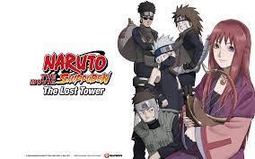 Naruto Shippuden Movie 4: The Lost Tower | Naruto shippuden the movie,  Naruto the movie, Naruto