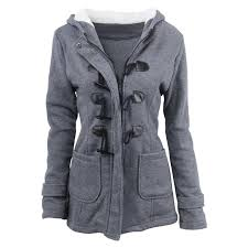 2019 maishimini winter claw clasp womens wool blended classic pea coat jackets pocket warm hooded clothes coats grey black army green from lbdapparel