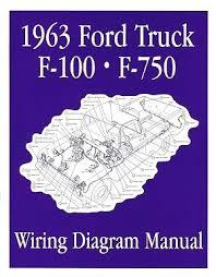 ford 1963 f100 f750 truck wiring diagram manual 63 ebay 1963 Ford Wiring Diagram ford 1963 f100 f750 truck wiring diagram manual 63 1953 ford wiring diagram