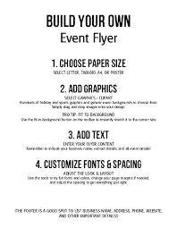 Build Your Own Flyer Build Your Own Flyer Restaurant Flyer
