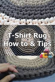 How To Knit A Rug Best 25 T Shirt Rugs Ideas On Pinterest T Shirt Weaving