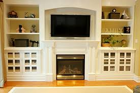 Built In Bookcases Around Fireplace | symmetrical built in ...