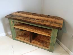 image of rustic entertainment center diy image of reclaimed wood tv stand