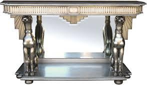 silver hall table. Silver Leaf Console Table Hall U